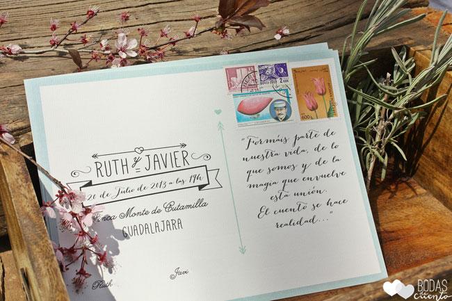 Invitaciones-boda-campestre-Bodas-de-Cuento-wedding- planners