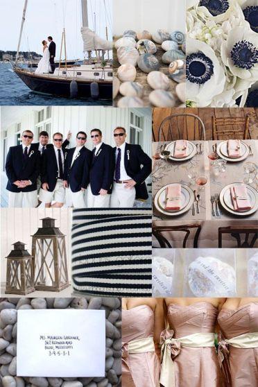 Resultado de imagen para boda estilo marinero