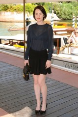 3 Michelle Dockery in Miu Miu