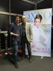 Mariano con Javier de OXXO