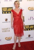 Christina Applegate teamed a Marchesa dress with Neil Lane jewellery, Christian Louboutin heels and an Edie Parker clutch