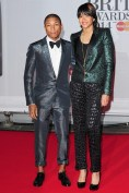 Pharrell - in Lanvin - with his wife Helen Lasichanh