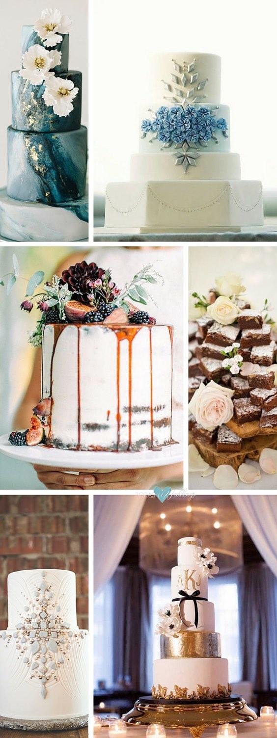 Elegant Wedding Cake Table With Flower Box