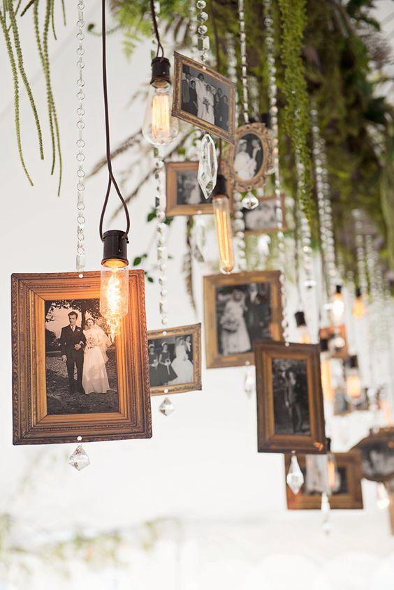 Unique Wedding Memorial Ideas: In Loving Memory | DIYs on Picture Hanging Idea  id=92213