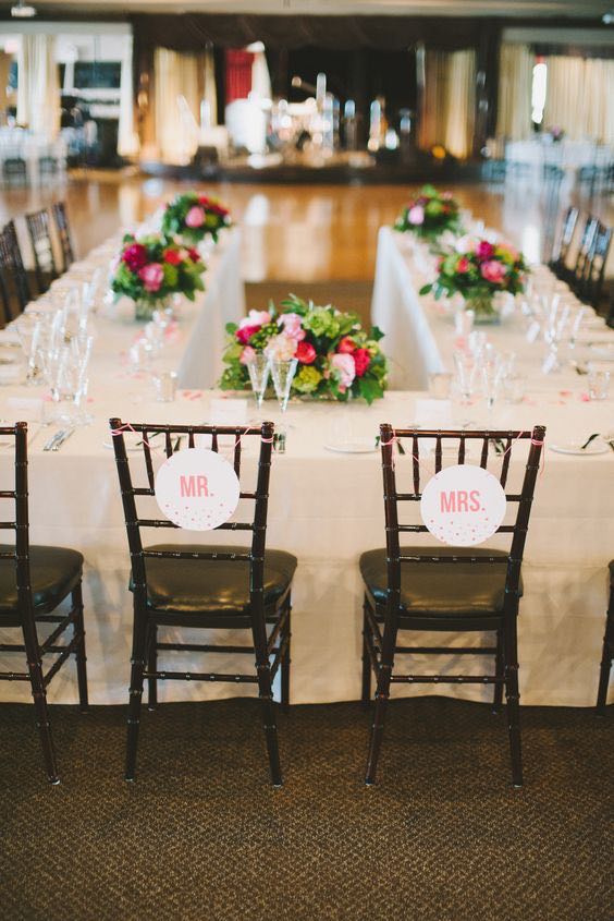 Unique Wedding Table Settings
