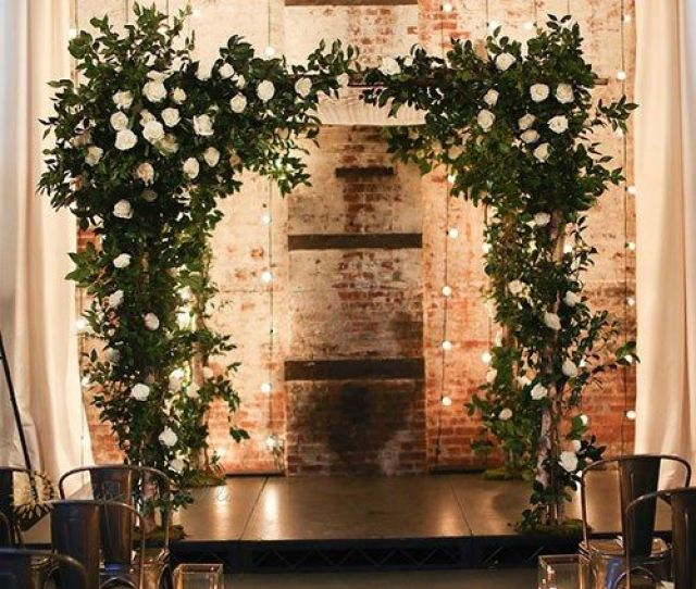 New York City Wedding At The Green Building In Brooklyn Built In  As A Brass