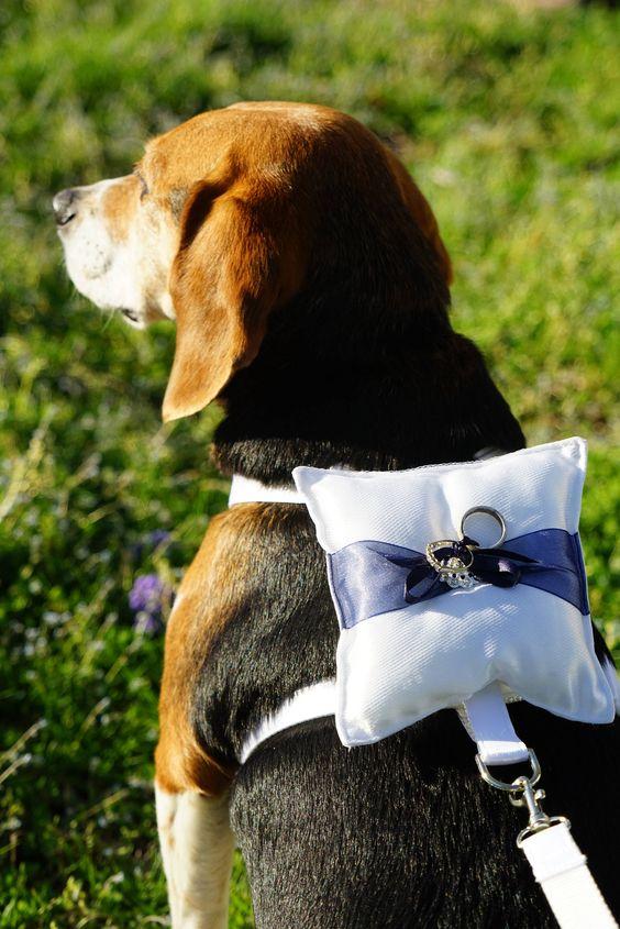 Ring Bearer Dog Harness