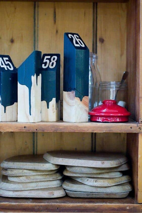 Photo Gallery Alternative Wedding Table Number Ideas