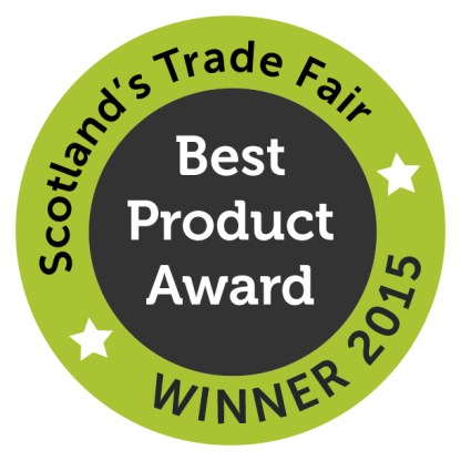 Scotland's Trade Fair Best Product Award Winner 2015