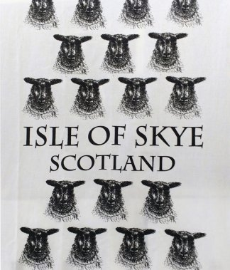 Isle of Skye Art Studio Sheep Tea Towel