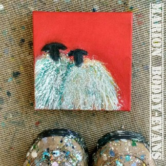 Small Paintings on Canvas or Wood