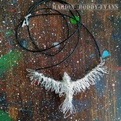 Wirework Necklace: Eagle