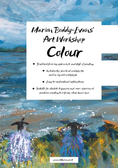 Back Cover of Colour Art Workbook