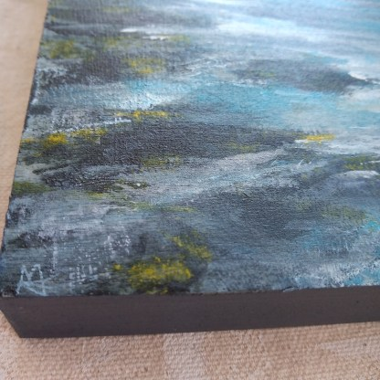 Ripples sea painting (detail)