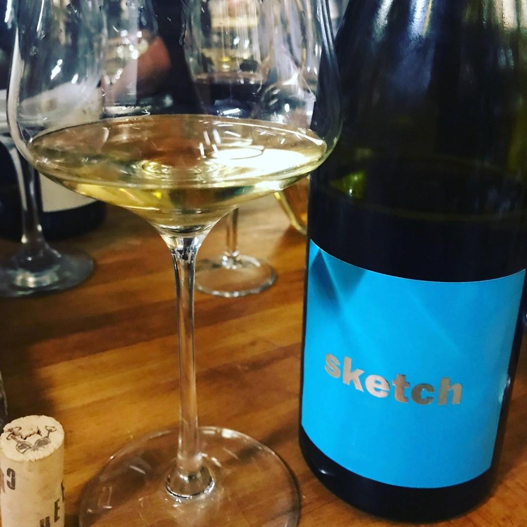 Raul Perez Wines, Sketch Wine in our tasting in Barcelona wine bar, Bodega Maestrazgo!