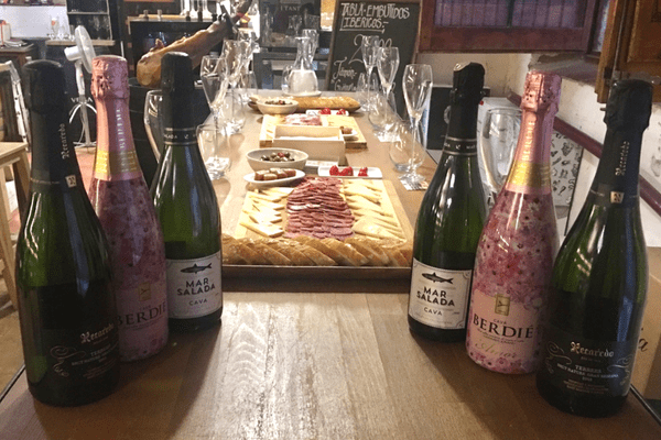 Join us for delicious food and cava at our Cava Tasting in Barcelona