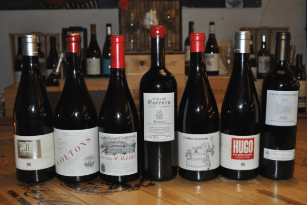 Spanish red grape varieties Priorat and Montsant