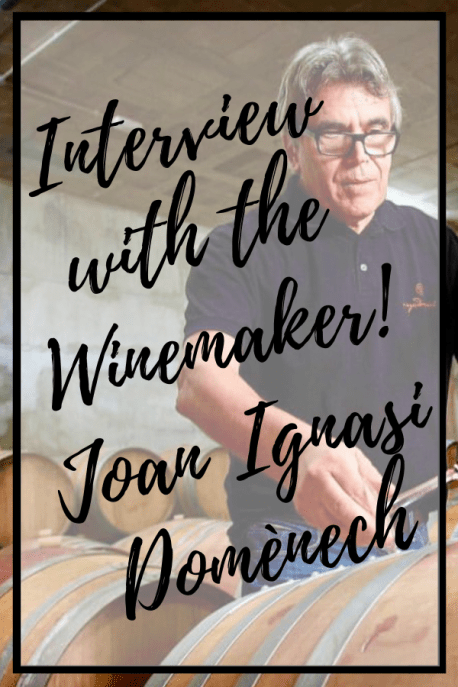 Interview the Winemaker Joan Ignasi Domènech Vinyes Domenech