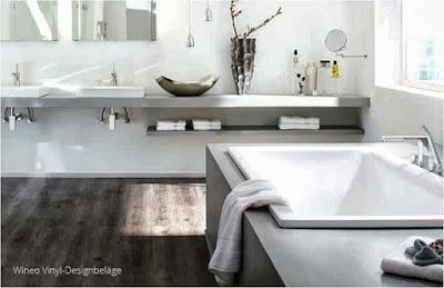 Renovieren jetzt: Neue phantastische Bodenbeläge für Bad und Feuchtraum