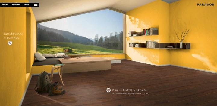 Parador Parkett Eco Balance :: Lass die Sonne in Dein Herz