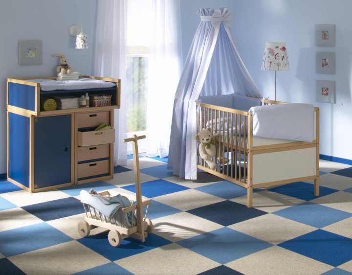 TRETFORD Teppichfliesen für Kinderzimmer