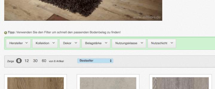 Aktion: Klick-Vinyl Gerflor Senso Lock nur EUR 22,84