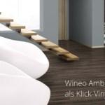Wineo Ambra Designboden Bodenbelag zum Kleben Klicken und als Multilayer