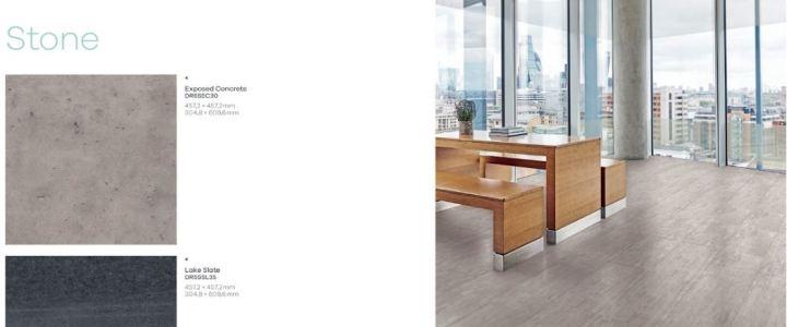 Amtico Cirro Designbelag Dekor Exposed Concrete Beton