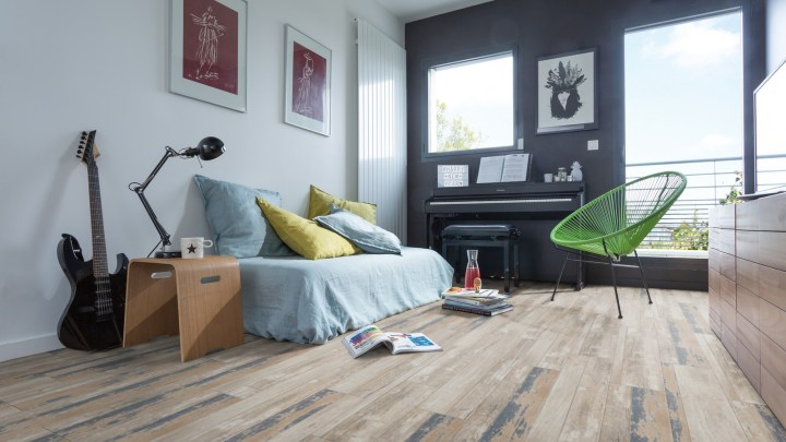 Gerflor Senso Lock Harbor Blue 0664 Jugendzimmer
