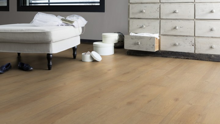 Gerflor Senso Lock Pure Oak Naturel Miel 0770 Schlafzimmer