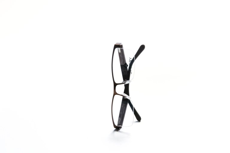 Men's Sperry eyeglasses, black plastic frames