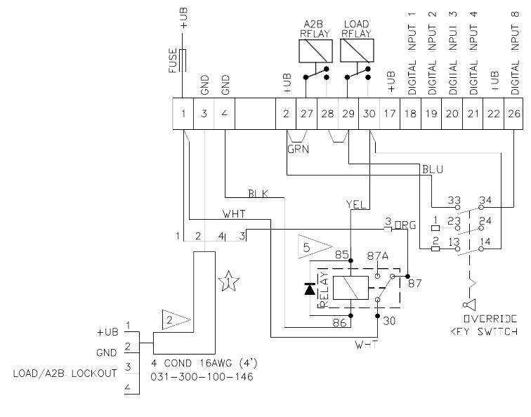 Hirschmann 6000el Wiring Diagram
