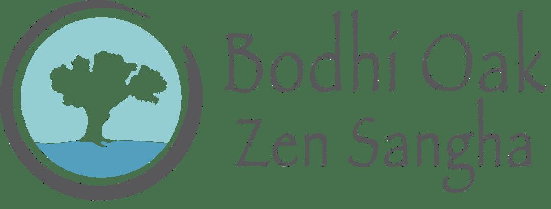 Logo of the Bodhi Oak Zen Sangha where you can practice peaceful meditation