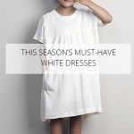 Les incontournables petites robes blanches
