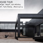 Beautiful, architectural home with black cladding