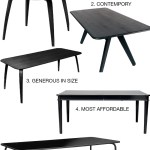 Black dining tables: 10 of the best