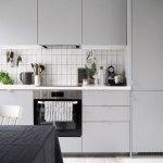 7 cuisines minimalistes en gris
