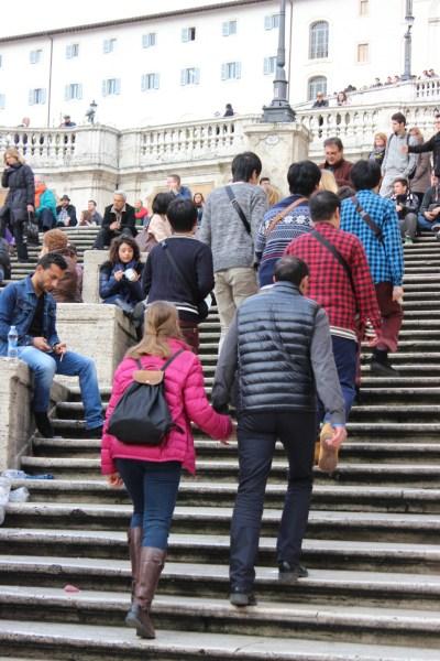Piazza di Spagna - Spansketrappen
