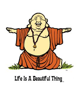 """Life is a Beautiful Thing"" Buddha yoga1."