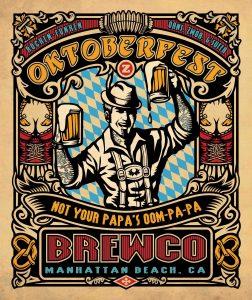 Brewco Oktoberfest poster.