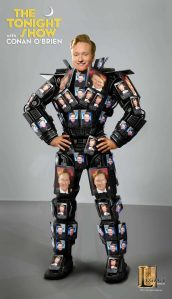 Conan O'Brien device suit concept designed for Legacy Effects.