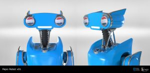 Pepsi Perfect Back to the Future Robot v01
