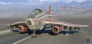 Jet design.