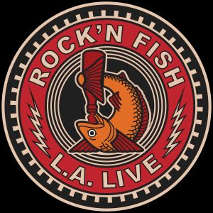 Rock'n Fish L.A. Live T-shirt design V02.