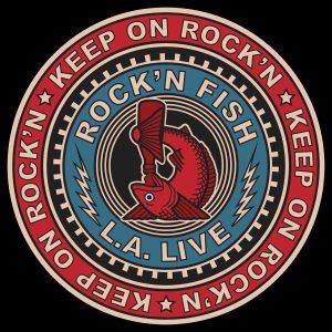 Rock'n Fish L.A. Live T-shirt design V03.