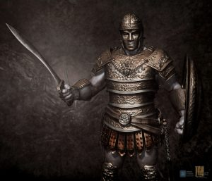 Hoplite v08 designed for Legacy Effects.