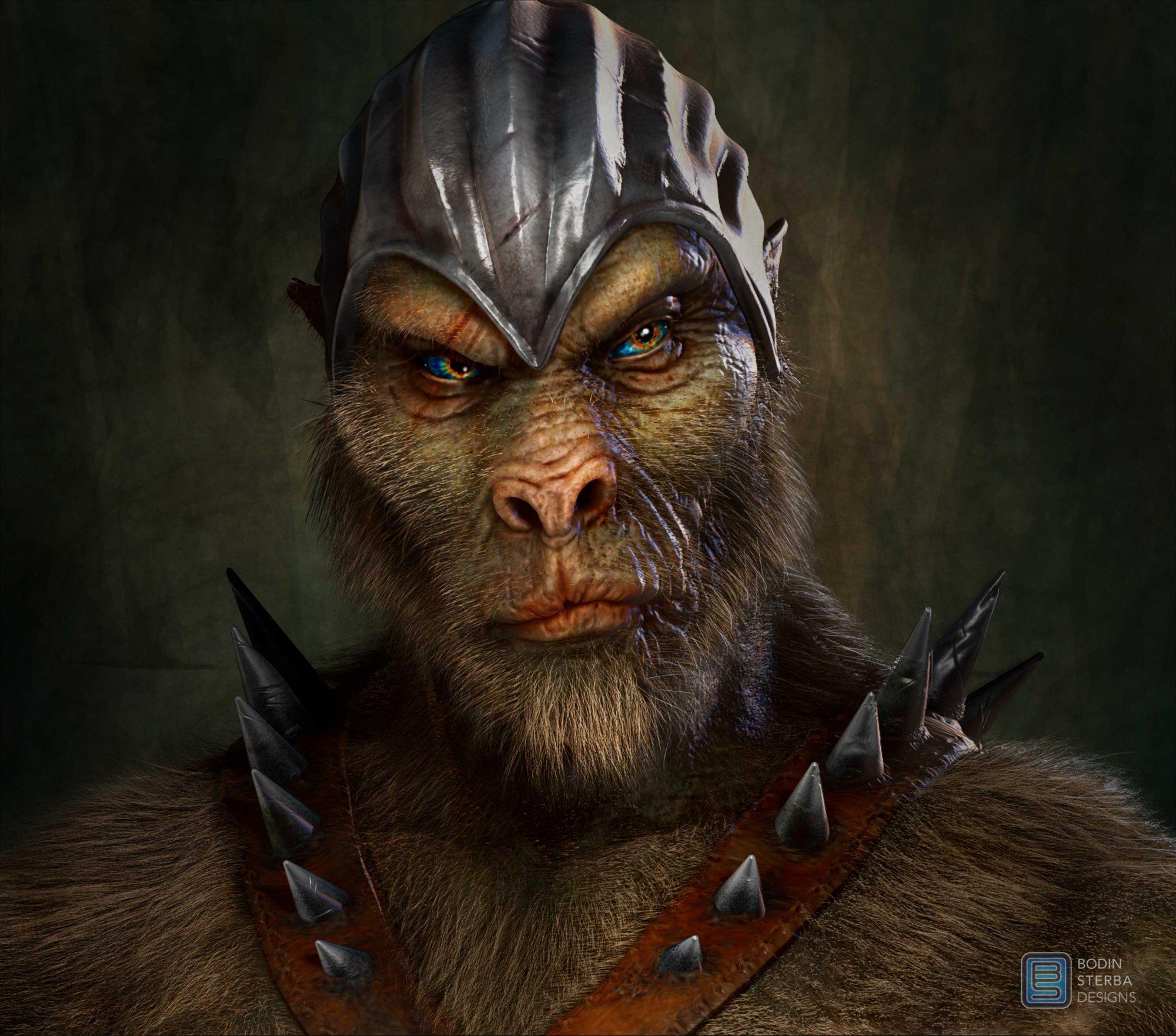 Beast warrior concept.