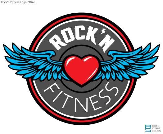 Rock'n Fitness Logo