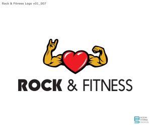 Rock'n Fitness early logo WIP v01_007