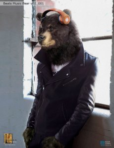 Beats Music- Black bear concept